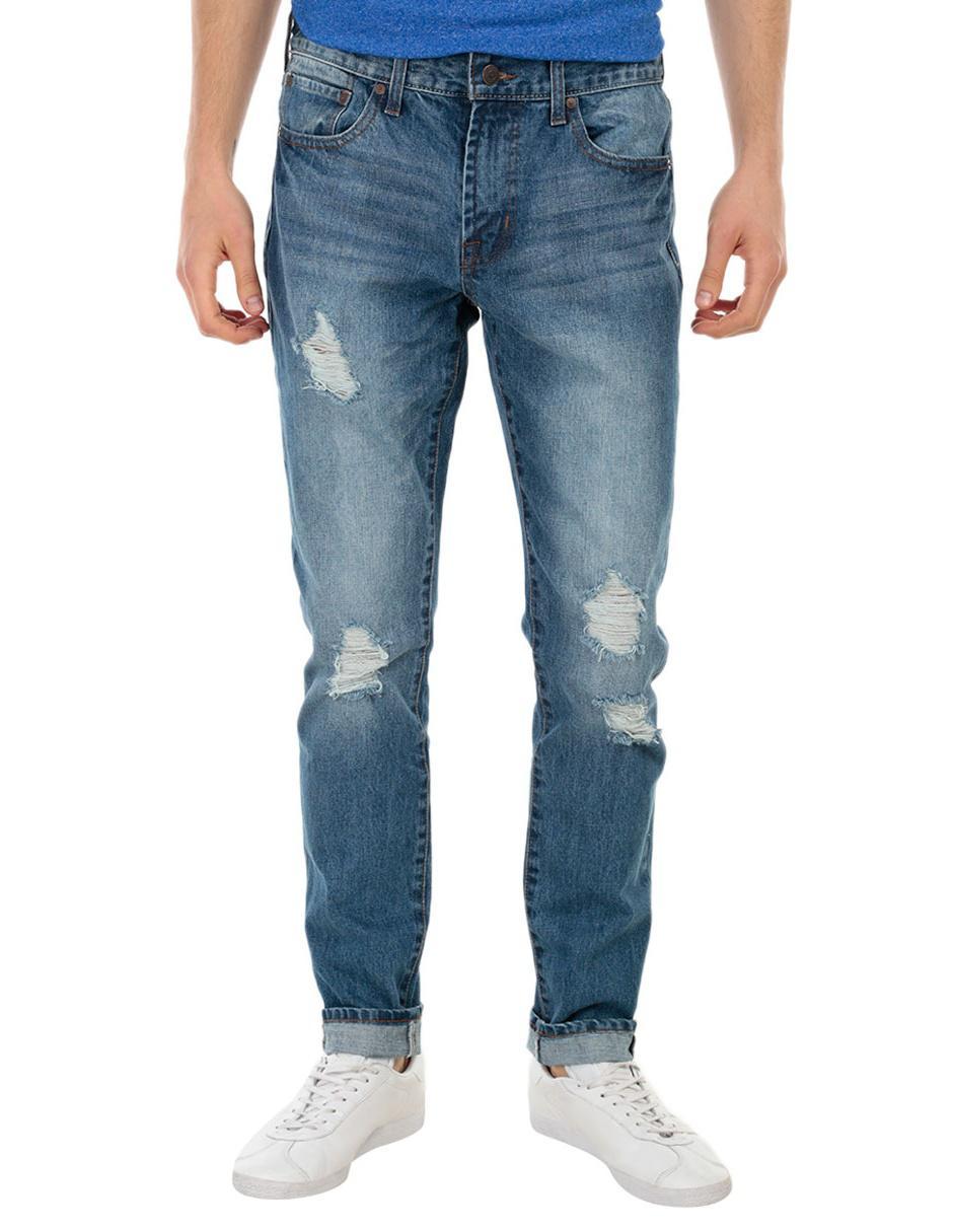 Azul Aéropostale Claro Jeans Slim Corte tBdq00wF